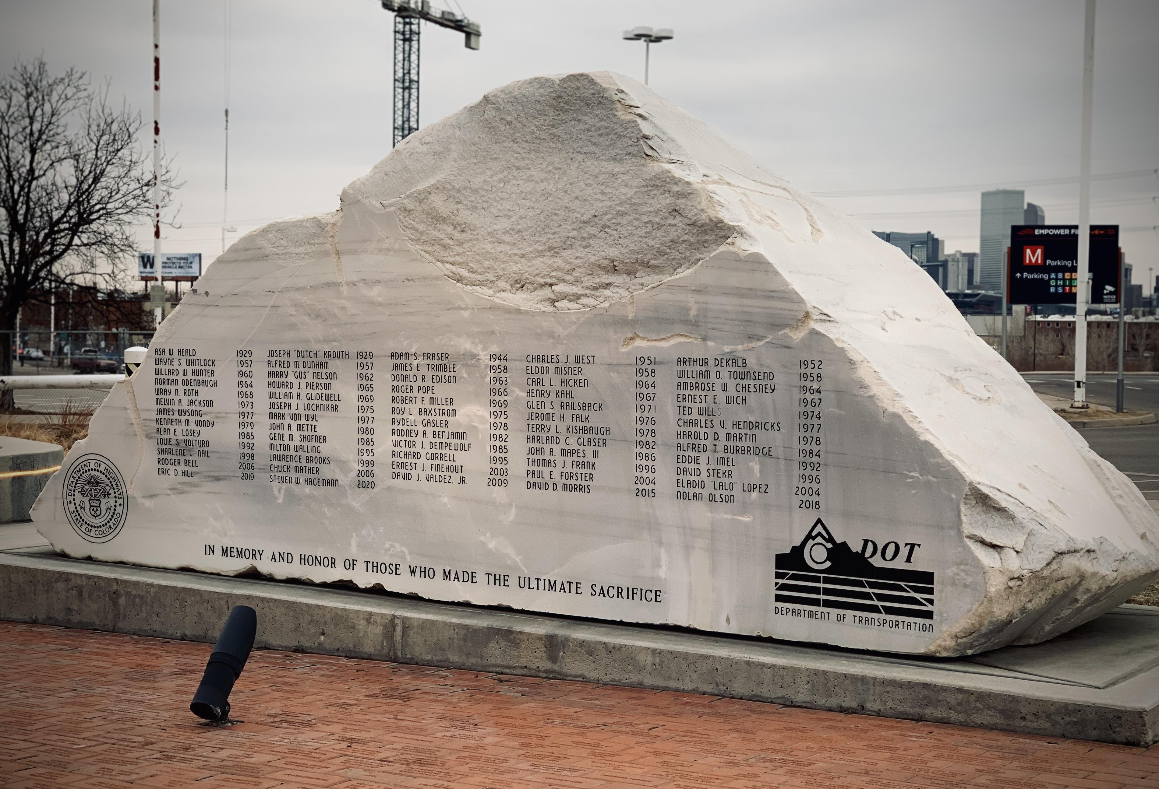 The CDOT Memorial