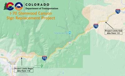 I-70 Map