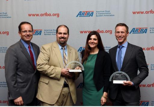 Spector wins ARTBA P3 Entrepreneur Award
