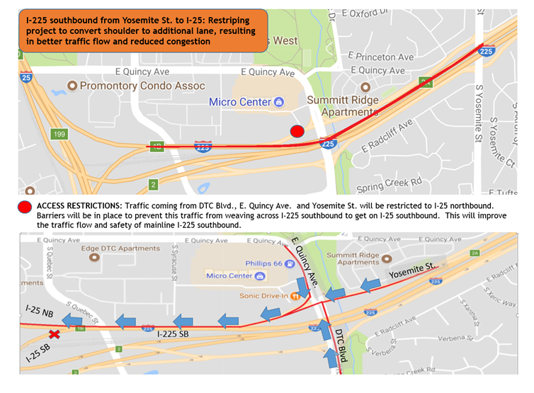 I-225 project map