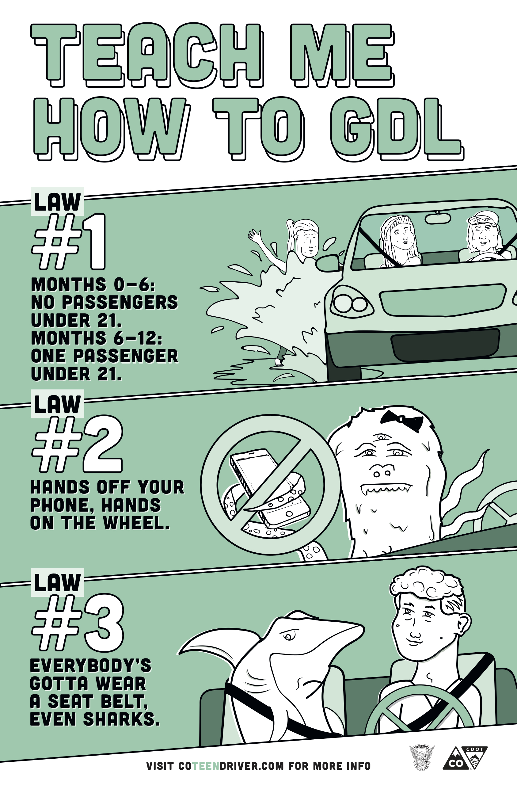 Teen Driving Campaign 2018