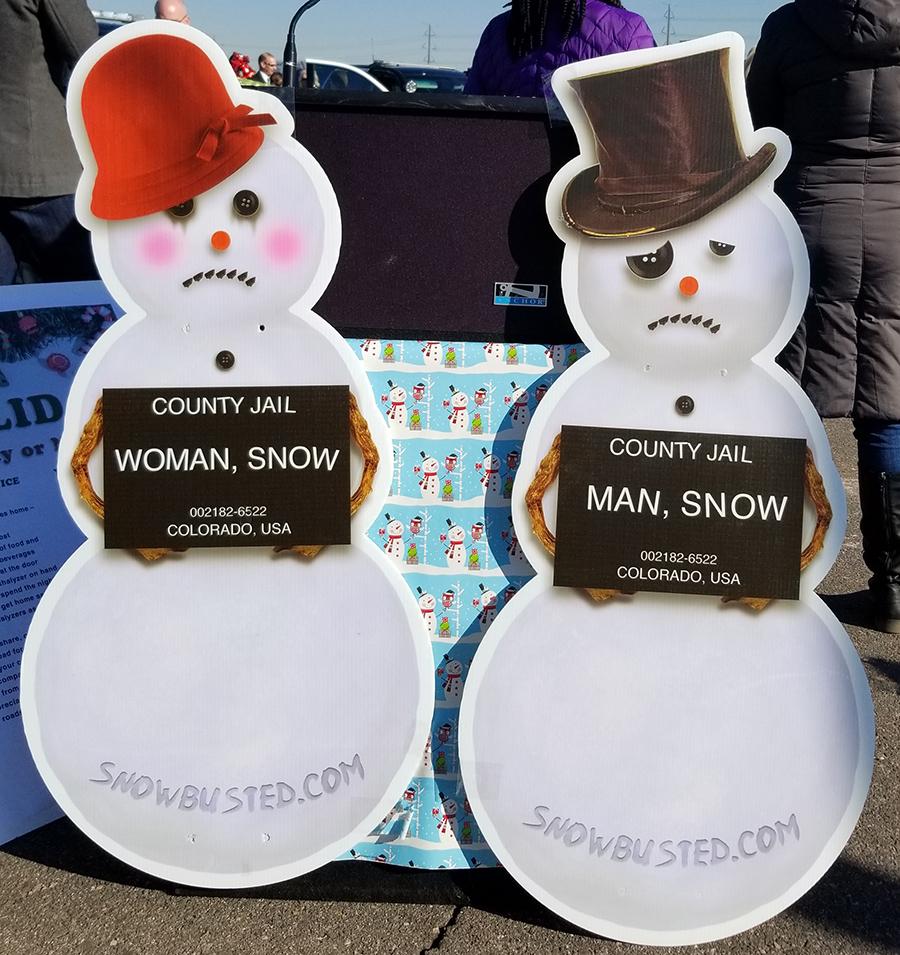 DUI Snowmen