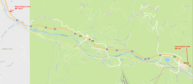 Highway & safety improvements on I-70 East of Wolcott complete