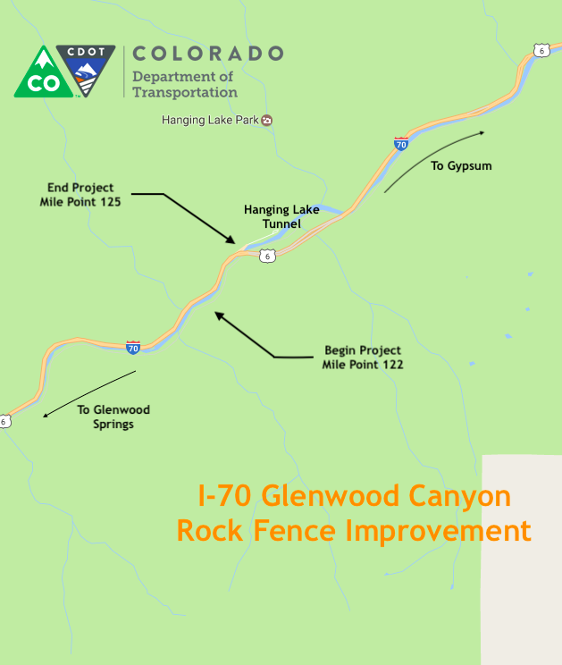 I-70 Glenwood Canyon Rock Fence Improvement