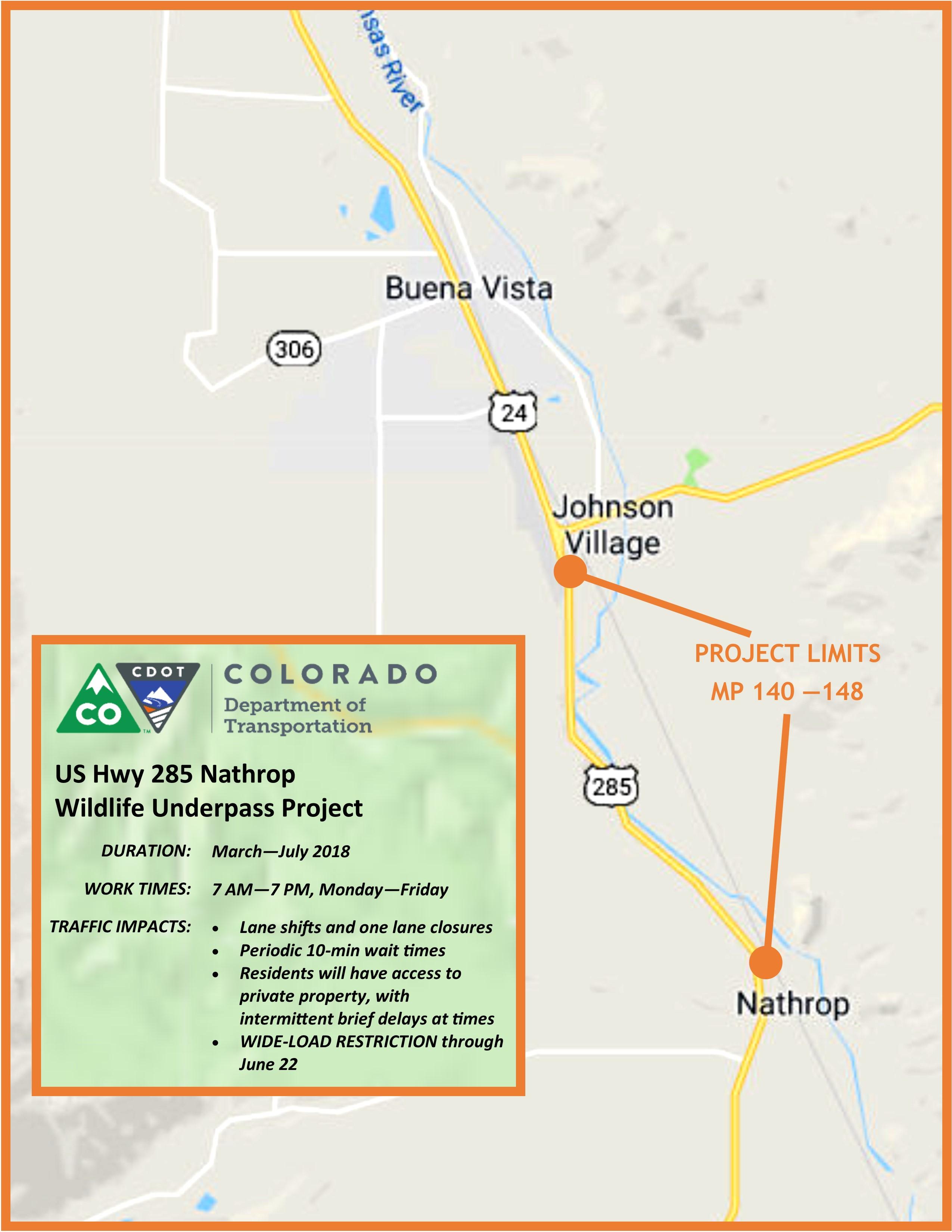 Nathrop Wildlife Underpass