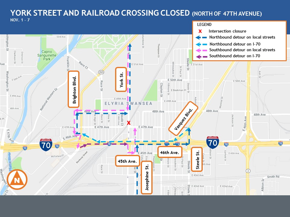 Central 70 York Street & Railroad Crossing.jpg detail image