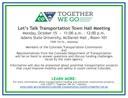 Alamosa Town Hall Meeting flier thumbnail image