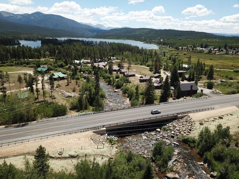 US 34 Bridge Replacement south of Grand Lake