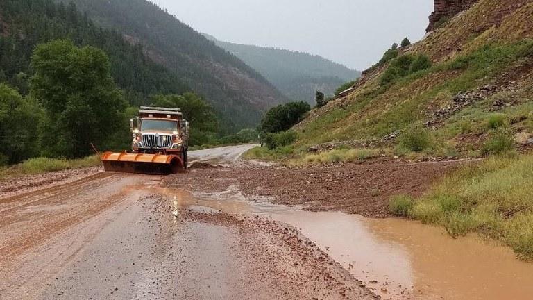 heavy rains in southwestern colorado