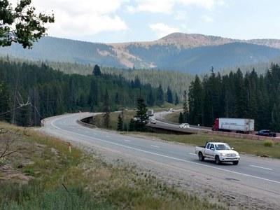 Vail Pass roadway