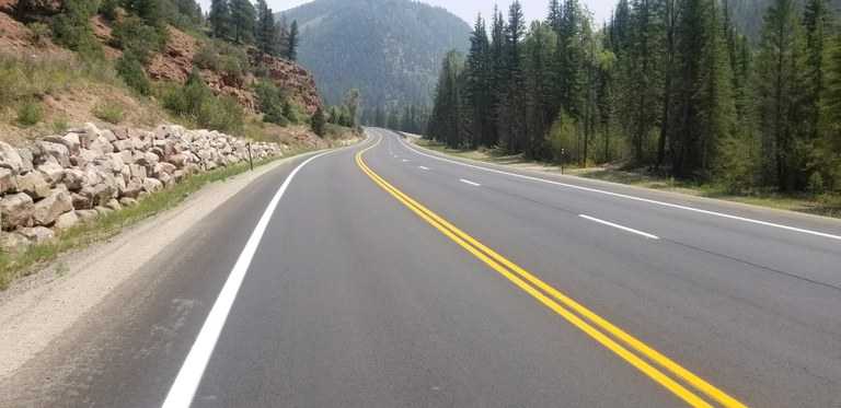 CO 145 San Miguel Roadwork Completion