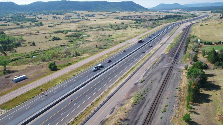I-25 South Gap Highway