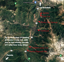CO 133 McClure Pass Rockfall Site Map.png