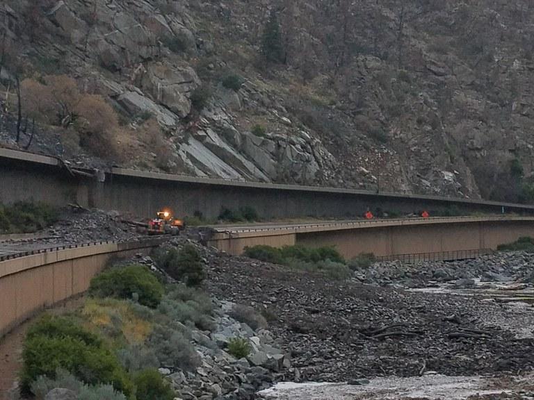 Mudslide on I-70