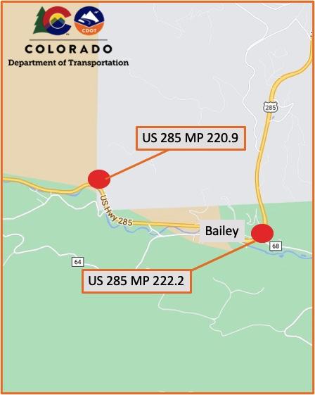 Bailey Culvert Project Map