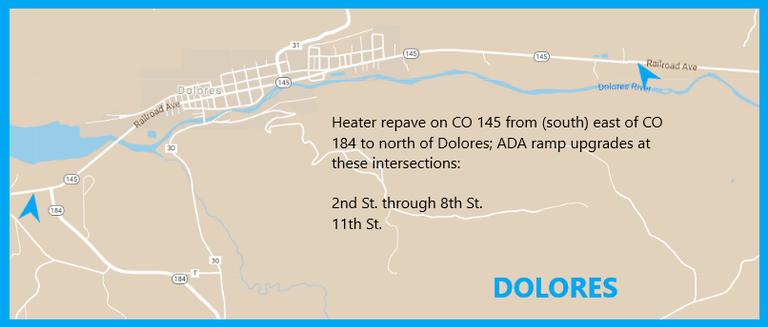 CO 146 Dolores Map