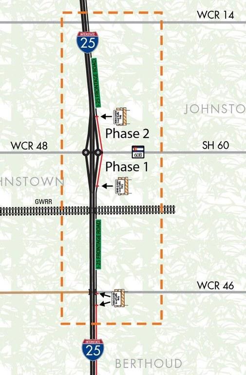 I-25 North Project CO 60 Closure