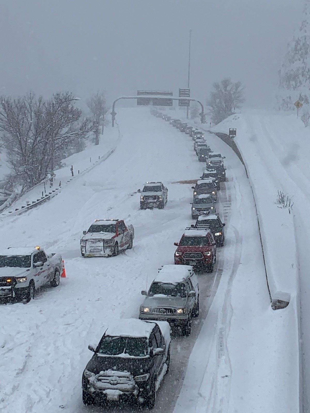 Traffic I-70 Floyd Hill 1 Mar 14.jpg detail image