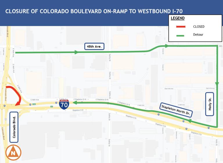 Colo Blvd. map