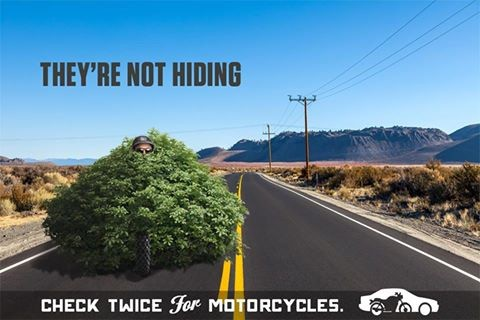 Check twice for Motorcycles