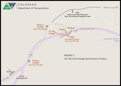 US 160 map 8-10-16