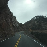 US 550 Red Mtn. Pass crib wall near MP 88 – finished product