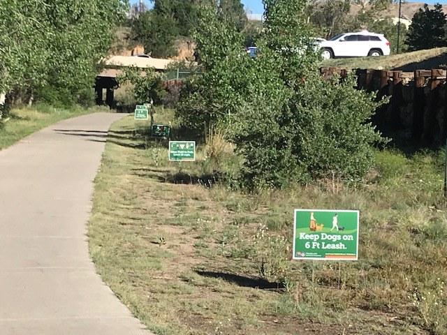 CDOT Trail Signs 2020 Douglas Cnty Castle Rock.jpg