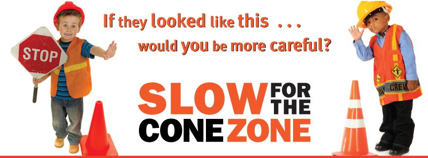 Cone Zone Badge