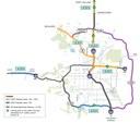 HOV3 Express Lanes Map