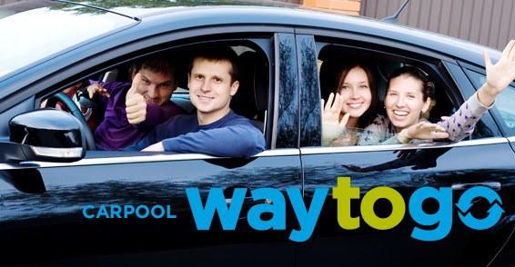 People in carpool