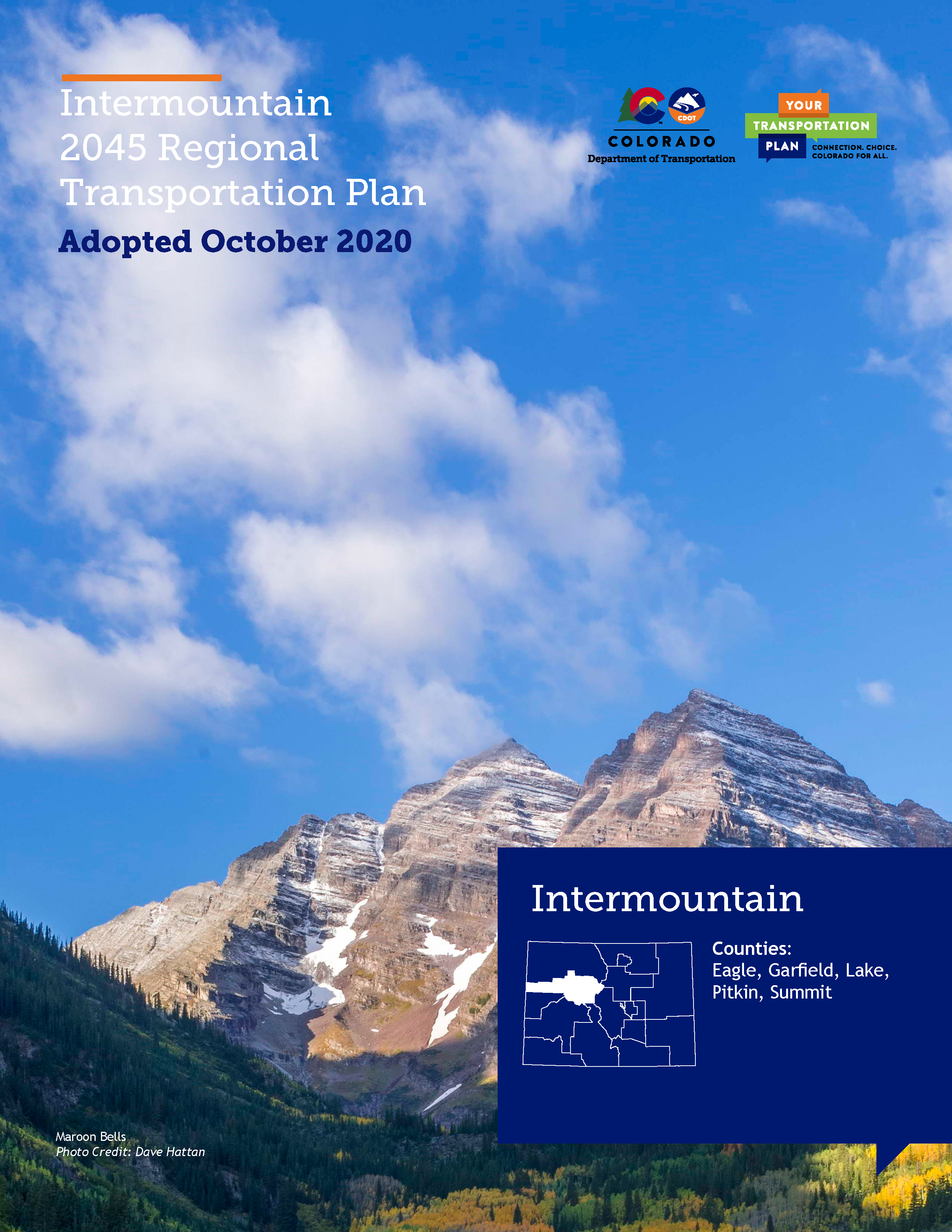 Intermountain Regional Transportation Plan 2045 Cover