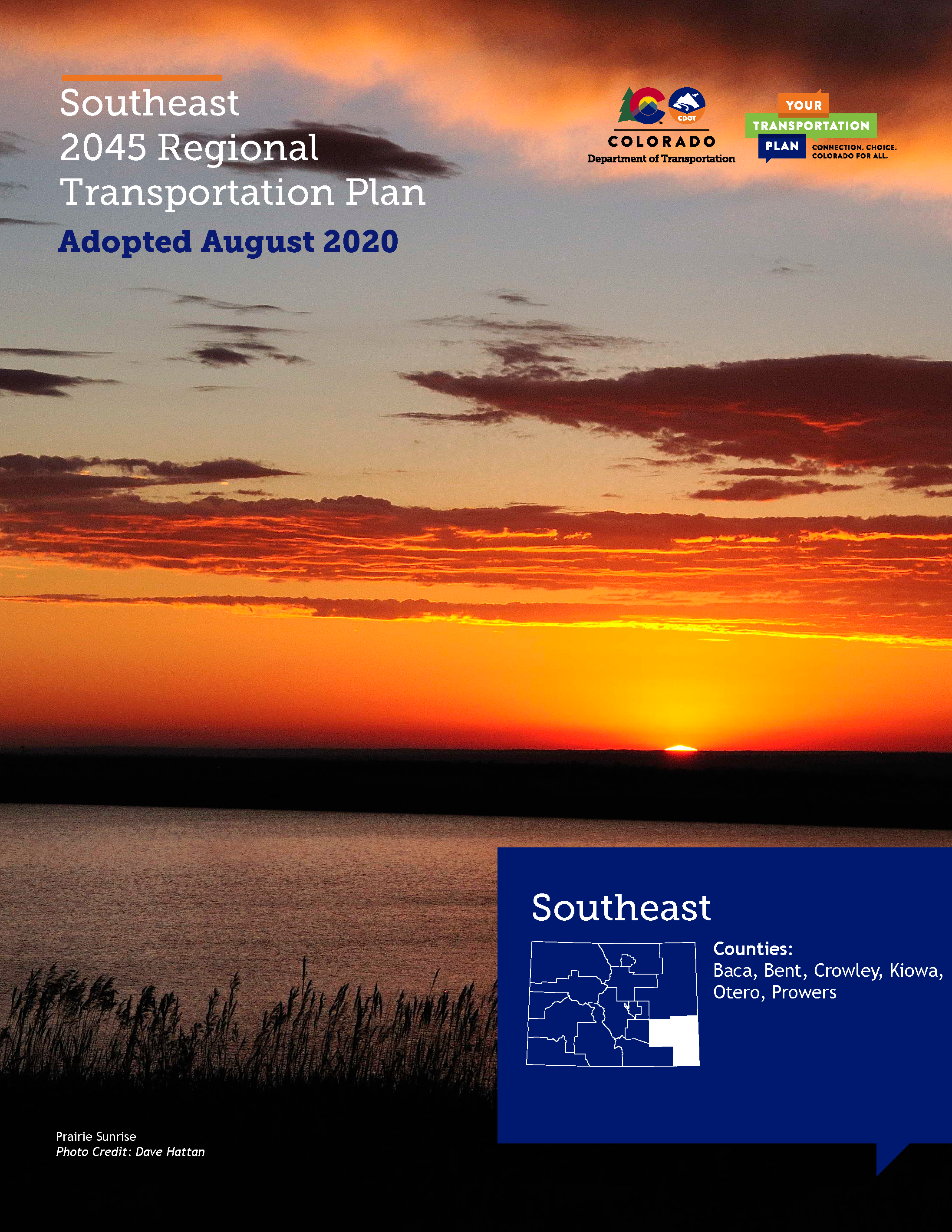 Southeast Regional Transportation Plan 2045 Cover