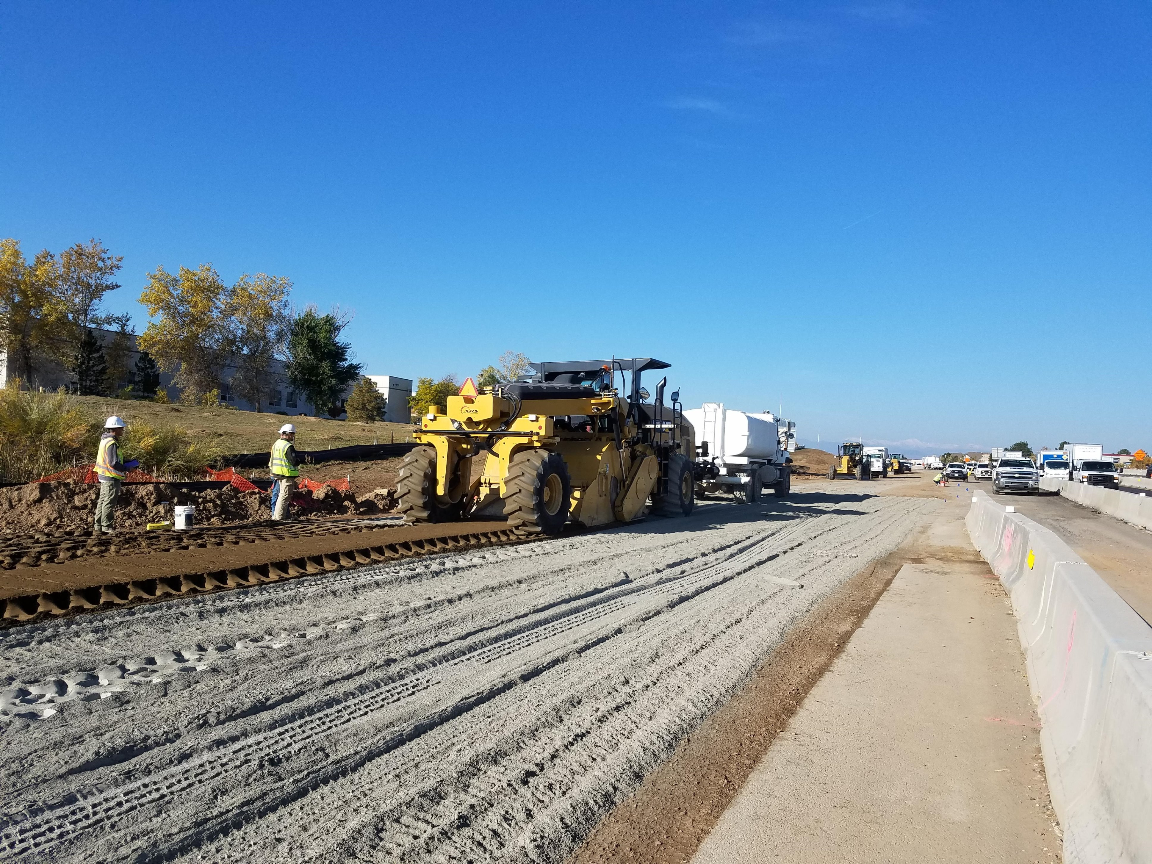 Cement Treated Subgrade Operation detail image