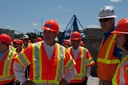 Gov. Ritter Tours Project June 2009