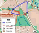 Big Dry Creek Trail Detour