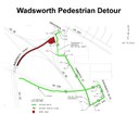 Wadsworth Pedestrian Detour