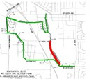 mht 136 detour map july 8, 2014