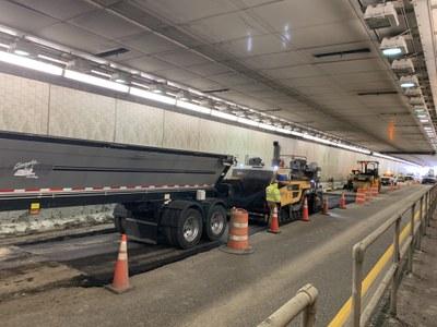 Eisenhower-Johnson Memorial Tunnel Resurfacing