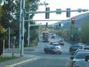 Truck both lanes on bridge - 2 thumbnail image
