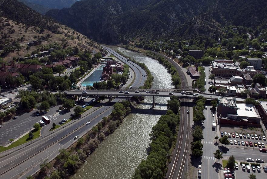 Aerial - Grand Ave Bridge detail image