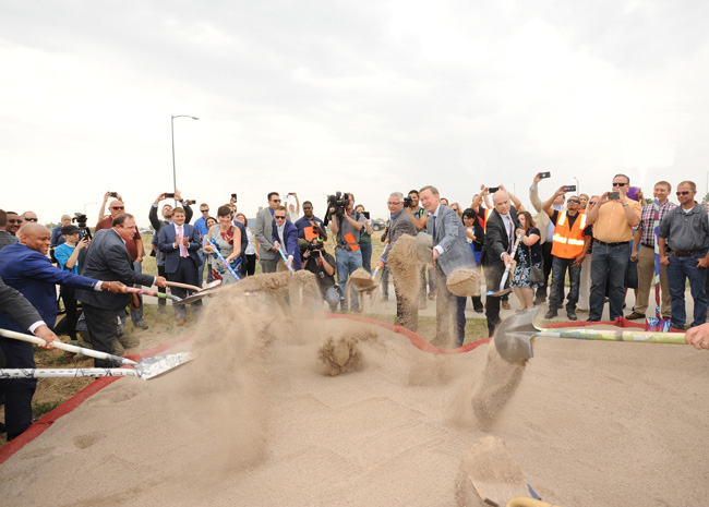 Central 70 Breaks Ground