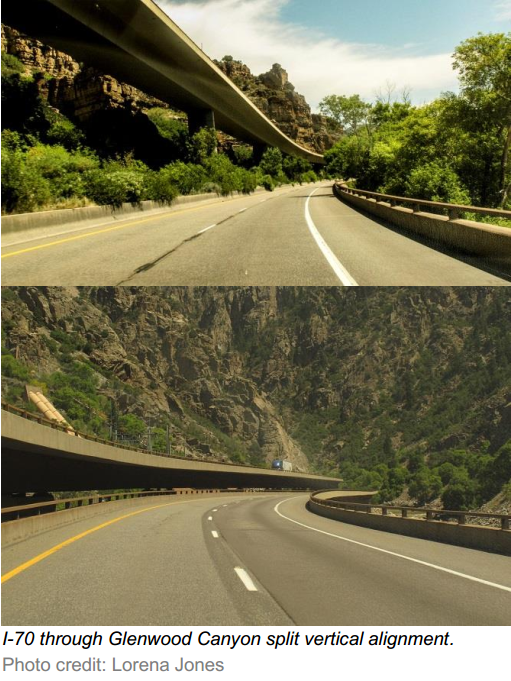 I-70 through Glenwood Canyon split vertical alignment.png