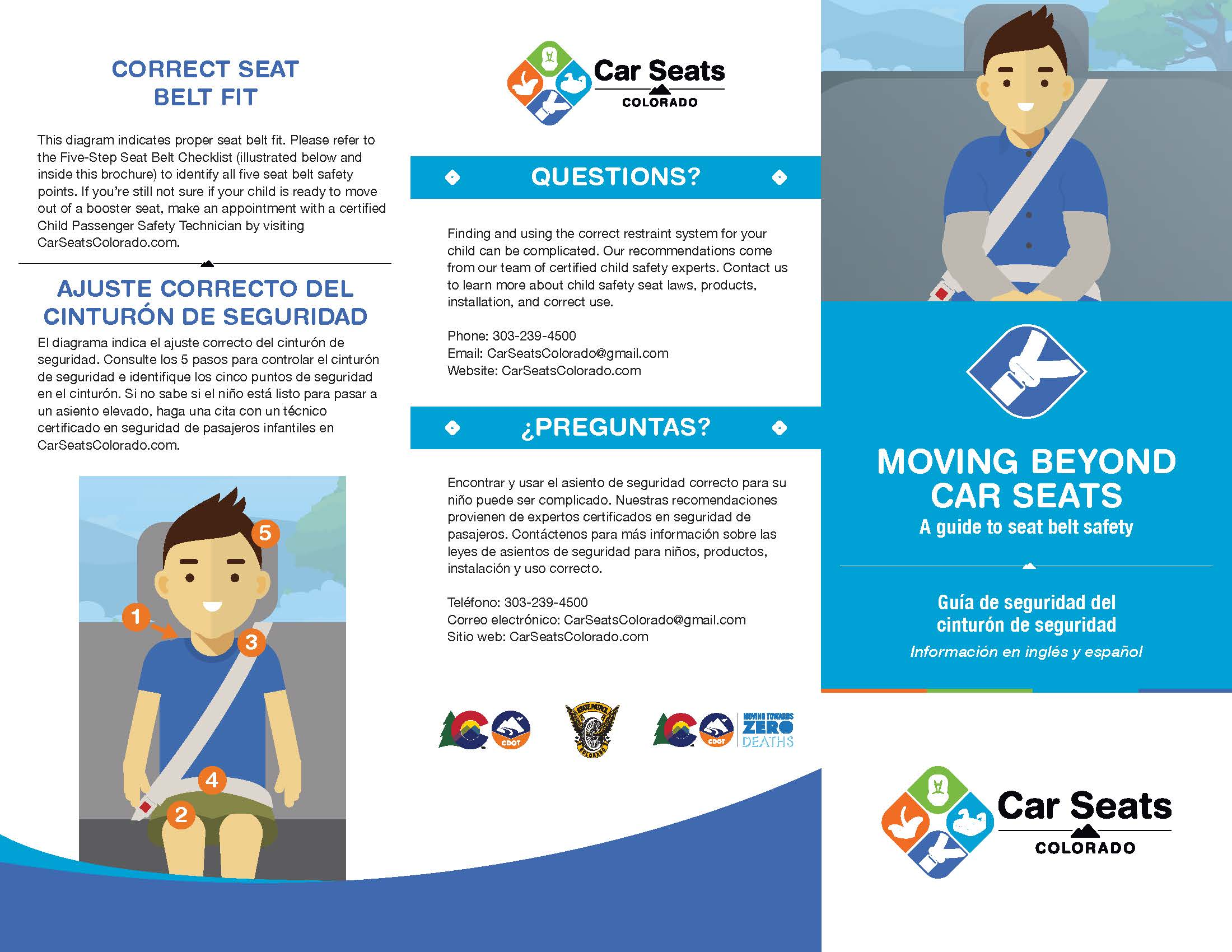 Child Safety Brochure (seat belts)