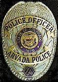 Arvada Police Department logo detail image