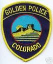 Golden Police Department logo thumbnail image