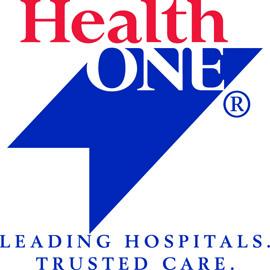 HealthONE logo detail image