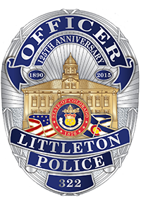 Littleton Police Department logo detail image
