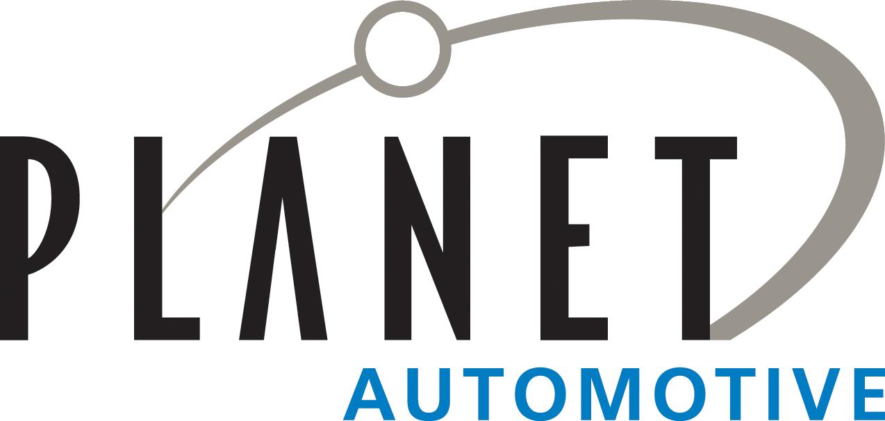 Planet Automotive logo detail image