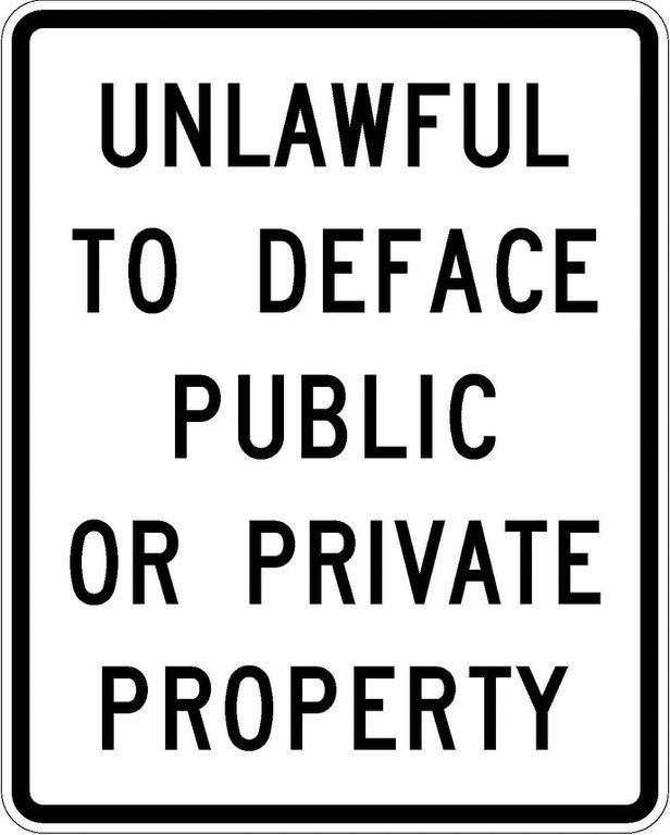R52-3 Unlawful To Deface Public Or Private Property JPEG