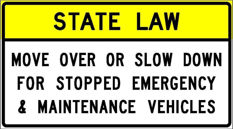 R52-6a State Law - Move Over Or Slow Down For Stopped Emergency And Maintenance Vehicles JPEG